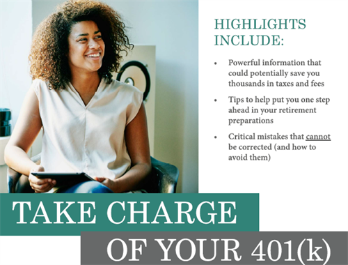 January 2021 is Financial Wellness Month. Start by taking charge of your 401(k) Plan account.