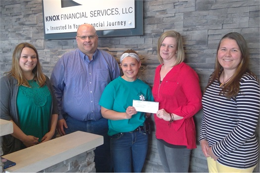 South Winneshiek Area First Responders receives Knox Financial Casual Thursday & Friday Donation