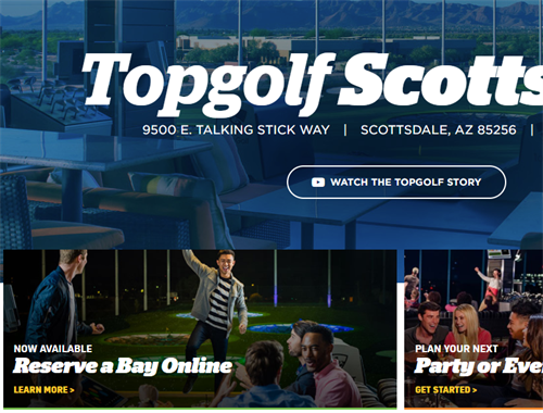 Play A Round Of Top Golf On Us
