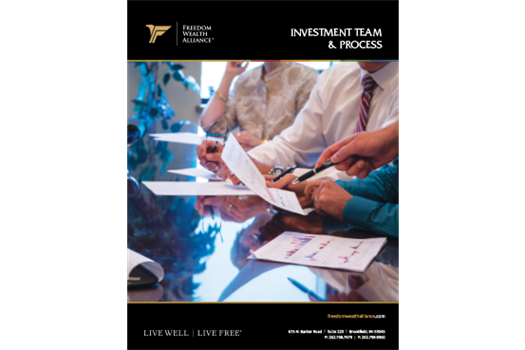 Investment Team & Process Brochure
