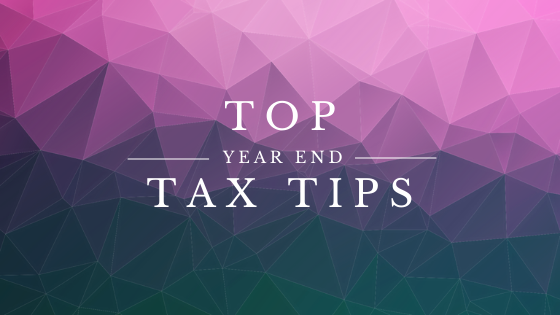 Top 10 Year-End Tax Tips