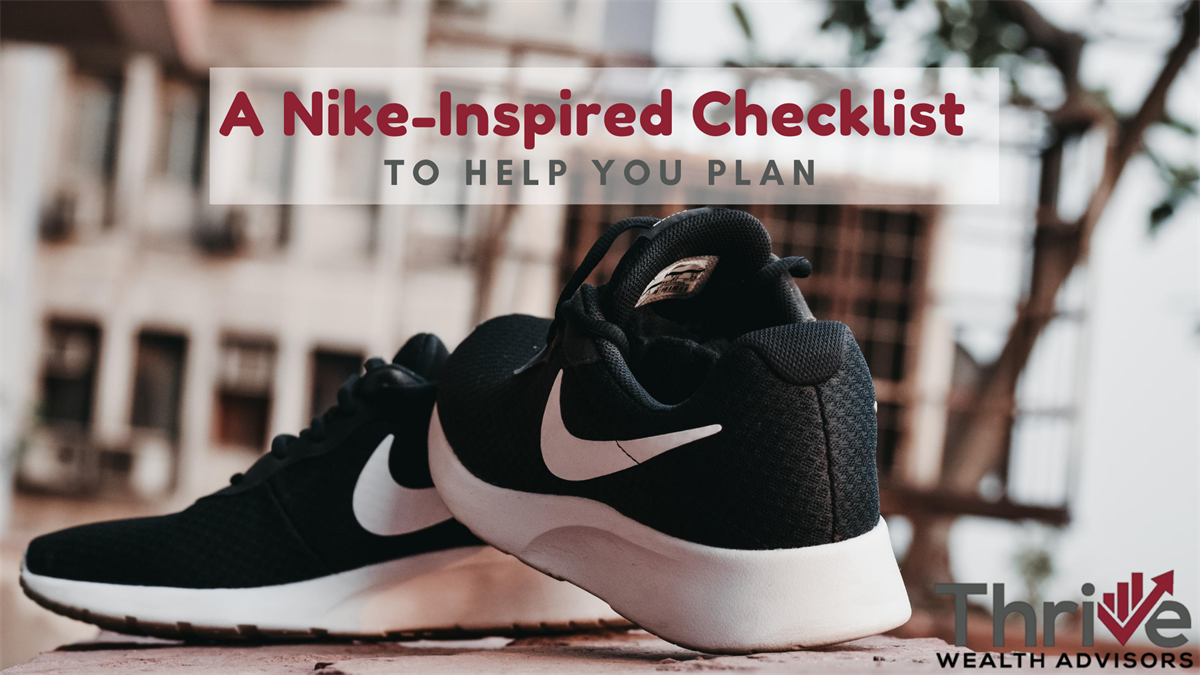 A Nike-Inspired Checklist to Help You Plan