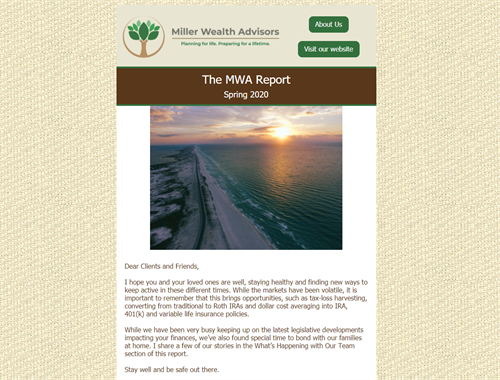 The MWA Report