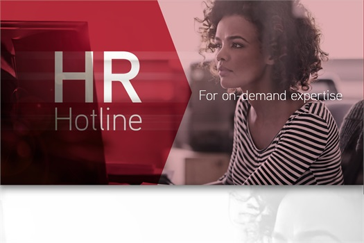 Contact HR Hotline