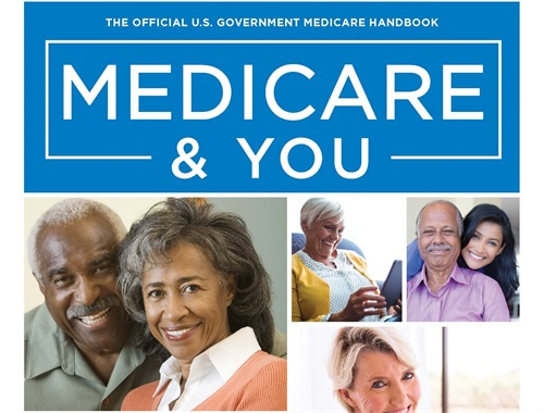 "Get your copy of the ""Medicare & You"" handbook"