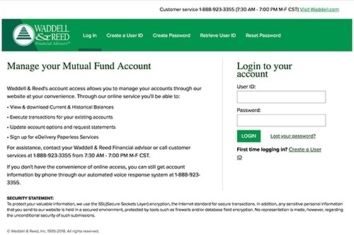 Mutual Fund Account Access