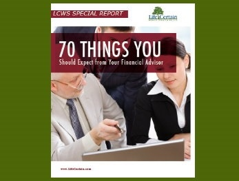 70 Things You Should Expect from Your Financial Advisor