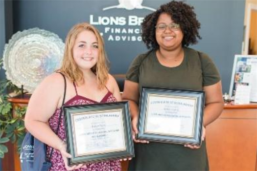 2018 Scholars Heather Nunn & Alonda Johnson – Recipients