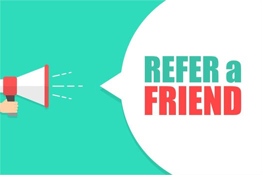 <b>Refer a Friend, Receive an Invitation for a Private Appreciation Event.</b>