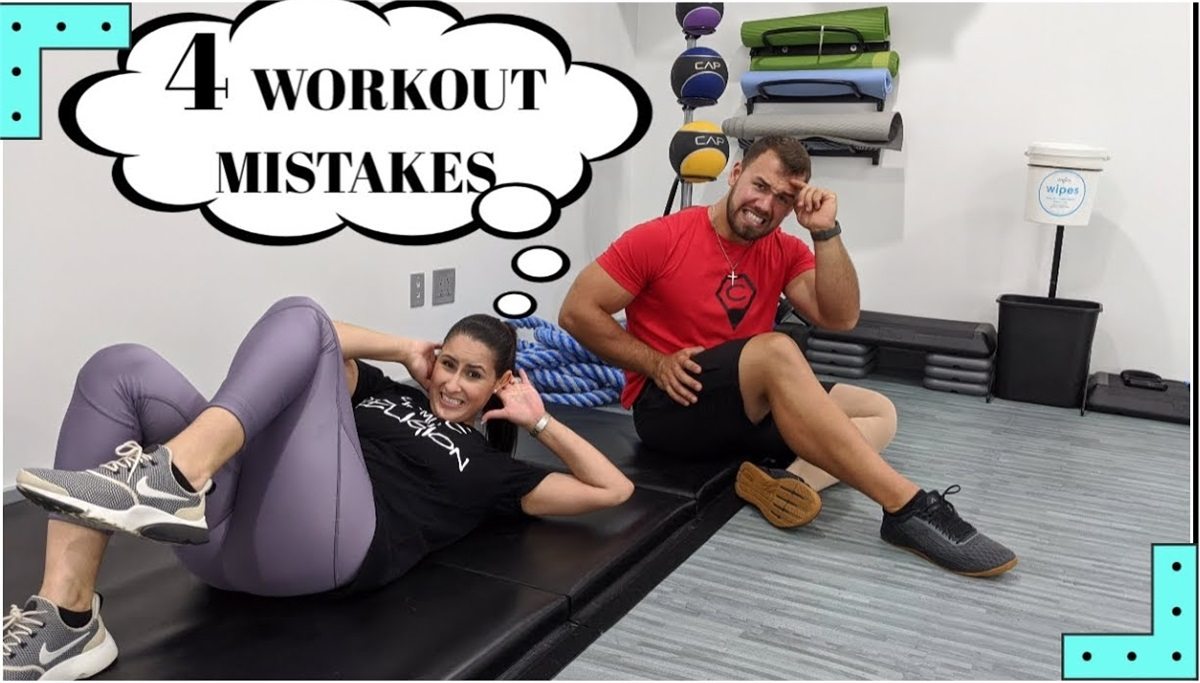 4 Workout MISTAKES that can lead to DISABILITY