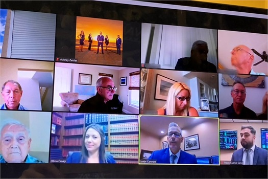 Virtual Fall Advisory Board Meeting 2020