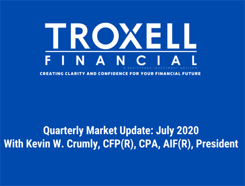 Quarterly Market Commentary- July 2020