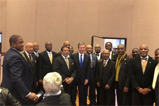 Alpha Phi Alpha Members Attend 2019 MLK Breakfast