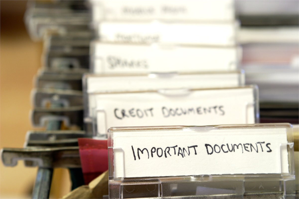 Keeping Tabs On Your Important Documents