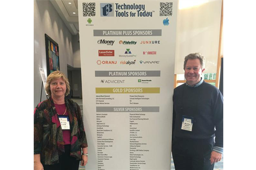 Elaine and Scott Attend Technology Conference