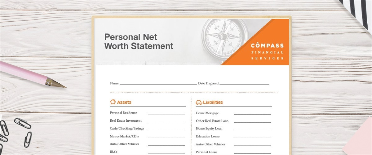 The Value of a Net Worth Statement