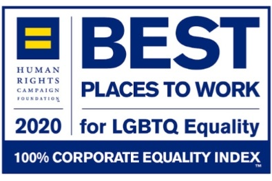 100% on 2020 Corporate Equality Index