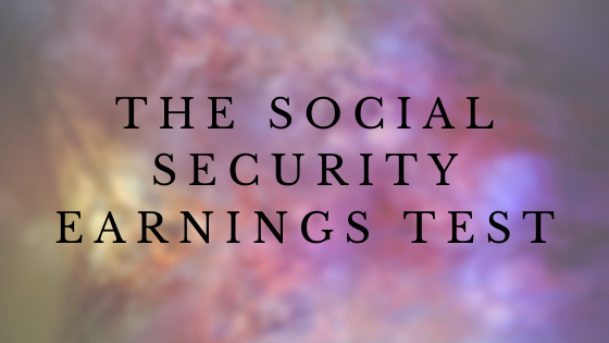 The Social Security Retirement Earnings Test