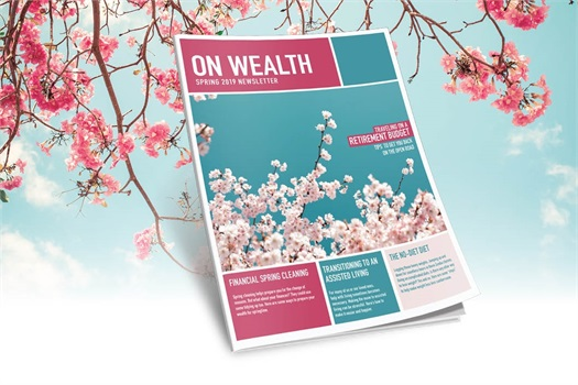 On Wealth - Spring 2019 Edition