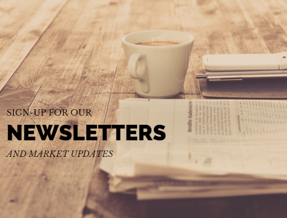 Sign Up for Our Newsletters and Updates