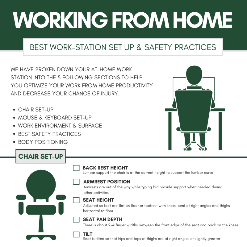 Working From Home: Best Safety Practices