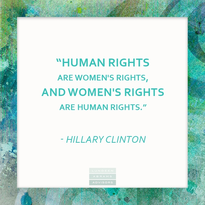 Wednesday Wisdom from Hillary Clinton