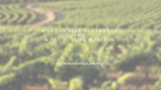 What is time horizon and risk tolerance?