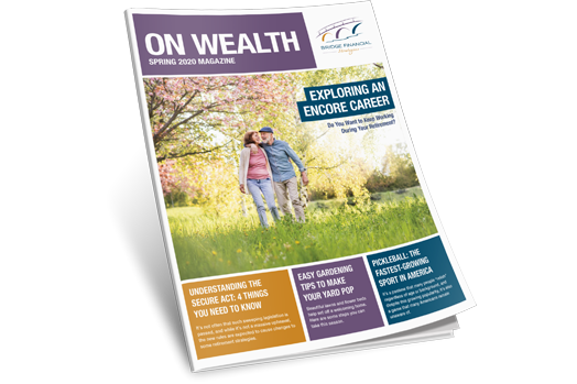 On Wealth Spring '20 Magazine