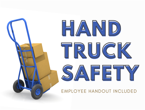 Hand Truck Safety [Employee Handout Included]