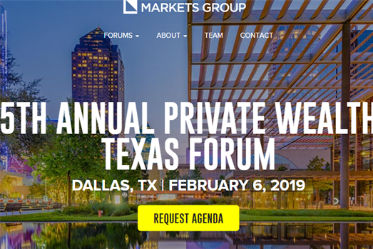 <b>Debra joins expert panel at Markets Group 5th Annual Private Wealth Texas Forum</b>