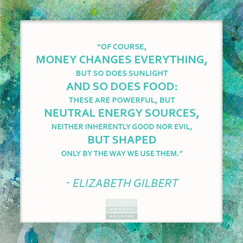 CONTEMPLATE THE FIRST DAY OF SUMMER WITH WEDNESDAYWISDOM FROM ELIZABETH GILBERT