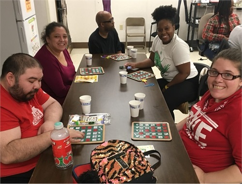 Hosting Bingo Nights for our friends with Special Needs