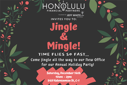 Your Invited to Our Annual Holiday Party Event!