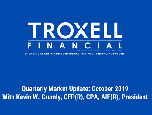 Quarterly Market Commentary- October 2019