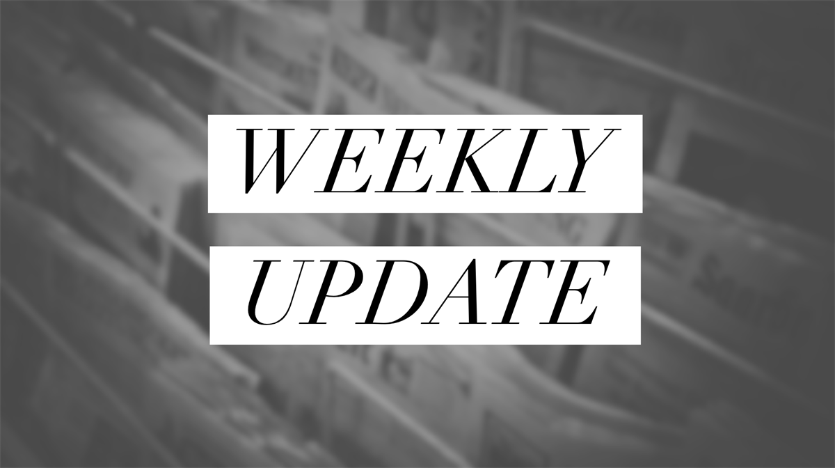 Weekly Economic Update, March 18, 2019
