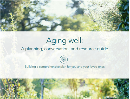 Aging Well Guide Brochure