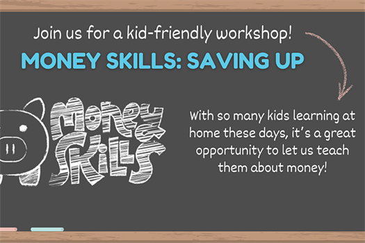 Webinar |Money Skills for Kids - Saving Up (for kids age 5-8 & parents