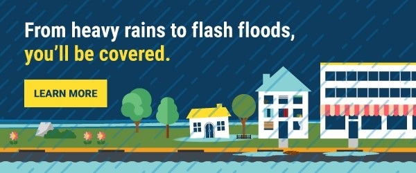 Urban flooding in Mount Prospect and DesPlaines – add flood insurance coverage from Held Insurance A
