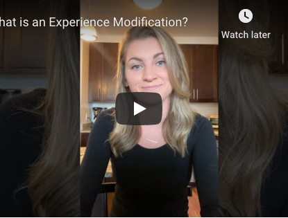 What is an Experience Modification? [Video]