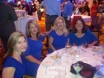 Blue Soiree Ladies