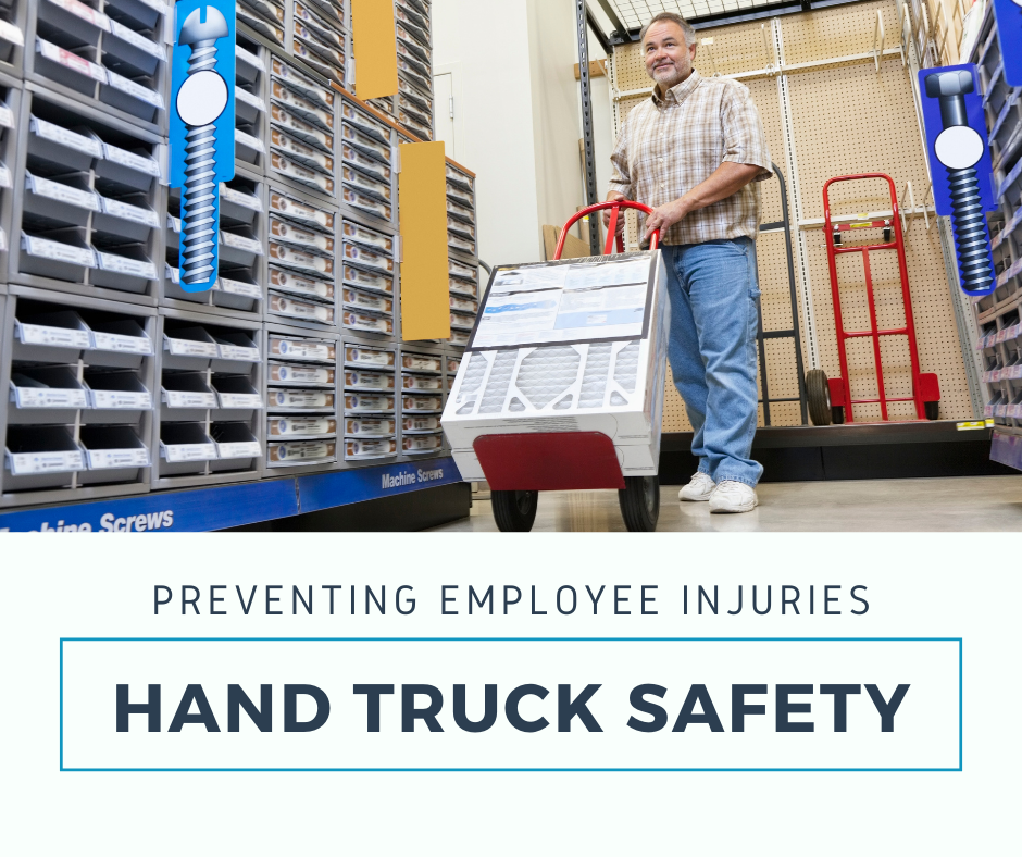 Hand Truck Safety Tips