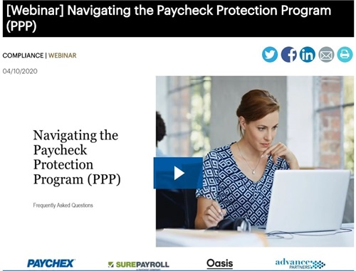 Navigating the Paycheck Protection Program (PPP)