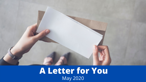 May 8, 2020 Client Letter: Nowhere To Go But Up