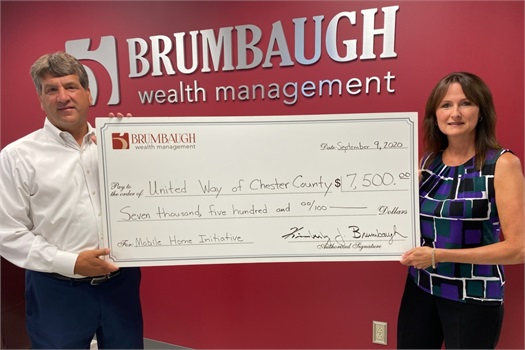 Brumbaugh Wealth Supports United Way's Mobile Home Initiative