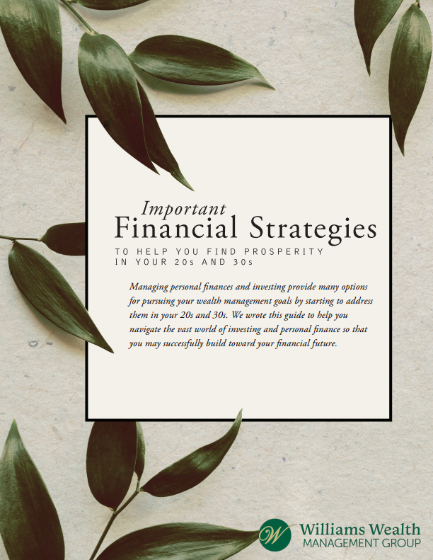 Important Financial Strategies for Your 20's and 30's