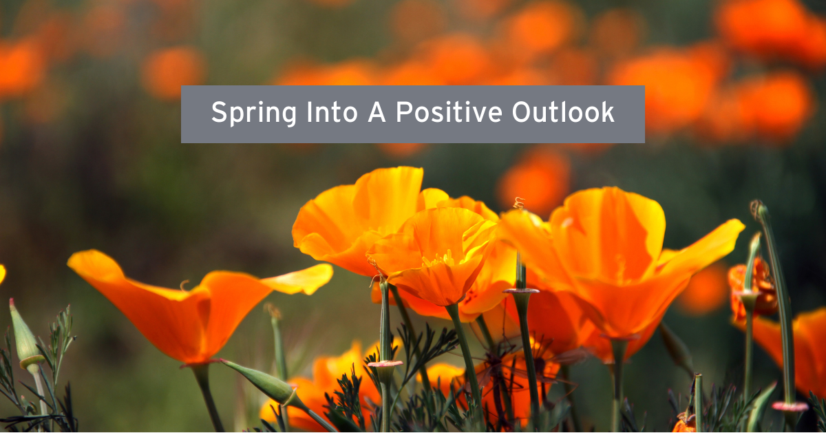 Spring Into A Positive Outlook