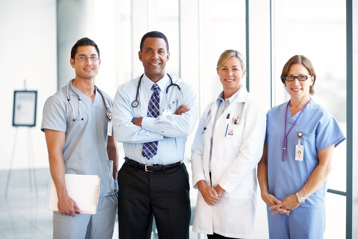 A group of medical professionals