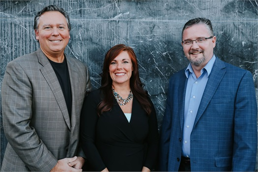 Our Team:                                     David & Shannon Van Holstyn and Mitch Glasser