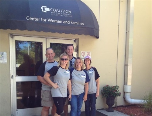 Coalition for the Homeless of Central Florida Painting and Beautification
