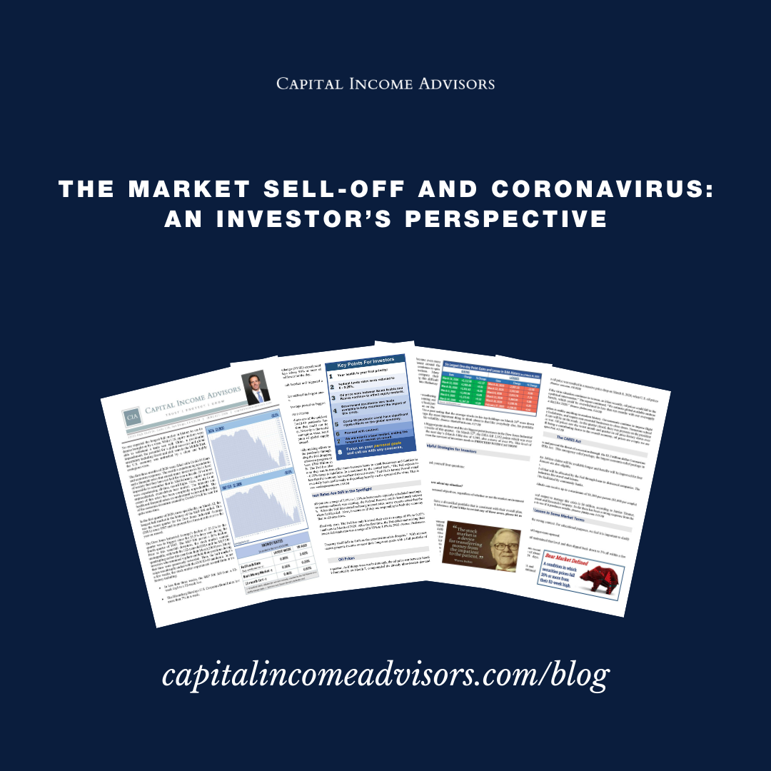 The Market Sell-Off and Coronavirus: An Investor's Perspective